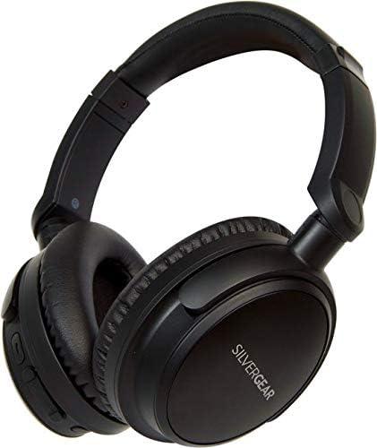 Silvergear Draadloze Bluetooth Koptelefoon - Active Noise Cancelling - 12 uur afspeeltijd - Over Ear Headphone - Draadloze ANC Headset