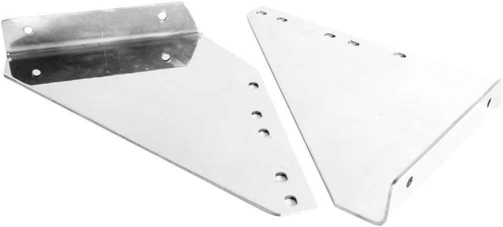 GG Grand General 59000 Stainless Steel Heavy Duty Fender Side Step Plates for Kenworth