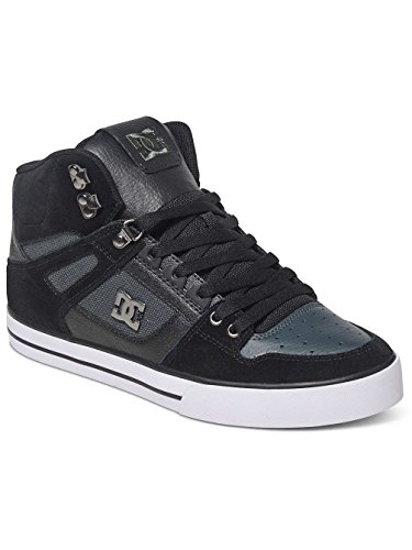 Dk DC Black Spartan Nero Sneaker High WC Uomo Grey wc0fwgqr