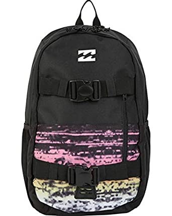 de5295150530 Amazon.com  Billabong Men s Command Skate Backpack Black Multi One Size   Clothing