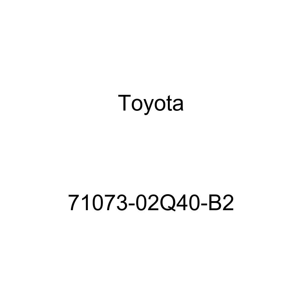 TOYOTA Genuine 71073-02Q40-B2 Seat Back Cover