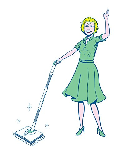 Nellie's All-Natural Wow Mop- Cordless, Light-Weight and Rechargeable by Nellie's All-Natural (Image #1)