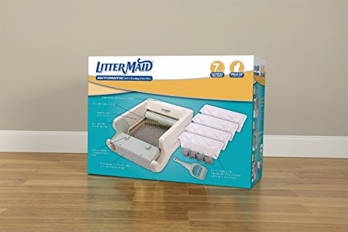 LitterMaid-LM580-Classic-Series-Automatic-Self-Cleaning-Litter-Box-Single-Cat-LM580