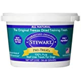 Stewart Freeze Dried Dog Treats Made in USA [Single Ingredient, Puppy and Dog Training Treats - Grain Free, Natural Dog Treat