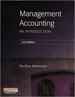Management Accounting: An Introduction: Amazon co uk: Prof