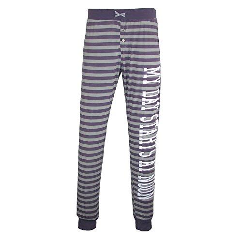 Mentally Exhausted Women's Polysuede Jogger Pajama Pants, Medium, (Band Pajama)
