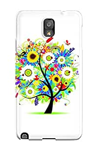 WhHAYSH6022ZIYGZ ZippyDoritEduard Colorful Tree Feeling Galaxy Note 3 On Your Style Birthday Gift Cover Case