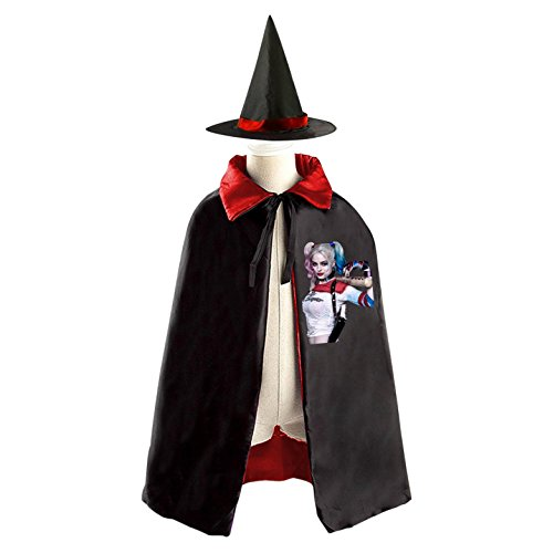 Childrens' Halloween Costume Cloak Style Cape Wizard Hat Cosplay HaleyQ For (Marilyn Manson Halloween Costumes)