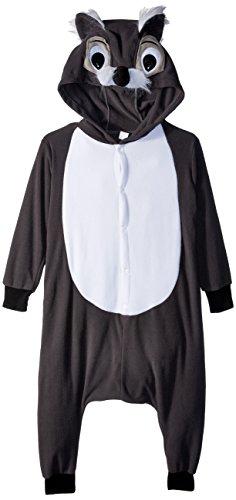 RG Costumes 'Funsies' Smoochi The Squirrel Costume, Gray/White, Medium -