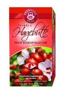 TEEKANNE Gastro Premium Hagebutte - Teebeutel - Kräuter - 70 g - Packung mit 20
