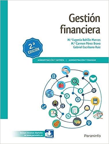 Book's Cover of Gestión Financiera 2.ª edición 2019 (Español) Tapa blanda – 5 julio 2019