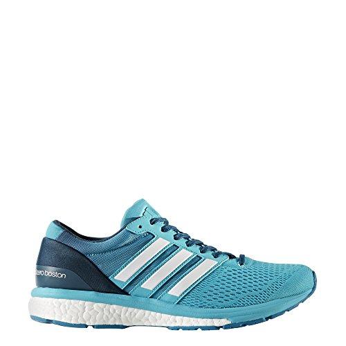 adidas Adizero Boston 6 W, Zapatillas de Deporte para Mujer Varios colores (Azuene / Ftwbla / Petnoc)