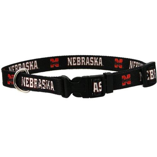 Hunter 307792 Nebraska Cornhuskers Dog Collar Nylon Small