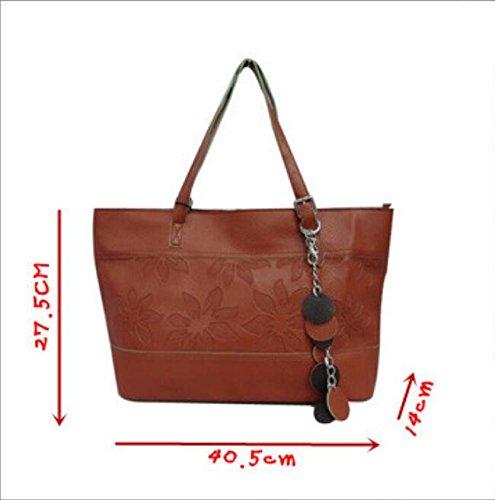 Handbag Fashion Fashion Handbag Chain Bag Meaeo Package Embossed Decoration Shoulder tTq6nOw