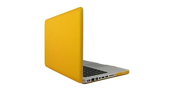 Amazon.com: eDealMax Caso cubierta dura plástica Shell Amarillo de Loptop protectora Para MacBook Pro DE 15 pulgadas: Electronics