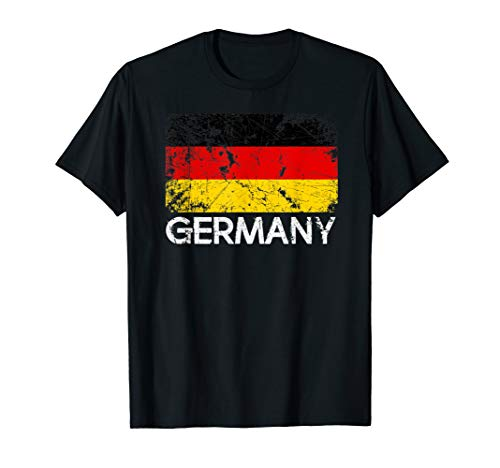 German Flag T-Shirt | Vintage Made In Germany Gift
