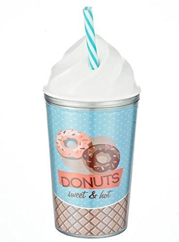 Vaso Pvc Cupcake DISOK Precio Unitario Comuniones Originales Cumplea/ños Termos Regalos para Empresas Vasos PVC para Detalles de Bodas - Regalos y Detalles Originales Mujeres
