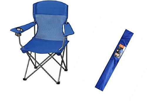 (Ozark Trail Basic Mesh Chair. Blue)