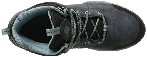 Columbia Womens Fire Venture Mid Waterproof Hiking Boot Graphite, Storm