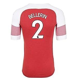 2018-2019 Arsenal Puma Home Football Soccer T-Shirt Camiseta (Hector Bellerin 2) - Kids