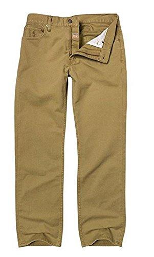 Polo Ralph Lauren Mens Classic Fit 867 Denim Jeans (32W x 34L, Sand Rocker)