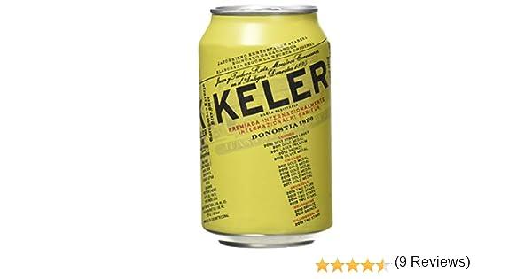 Keler Cerveza - Paquete de 24 x 330 ml, total de 7920 ml: Amazon ...