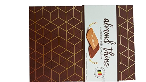 Thins Almond (Sweet Elegance almond thins with Belgian Milk Chocolate)