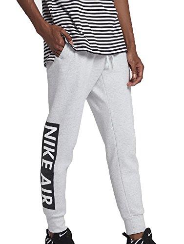 Nike Air Fleece Pant Men's (Birch Heather/White, L)