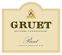 NV Gruet Brut, Methode Champenoise Sparkling Wine 750 mL