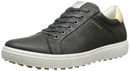 ECCO Men's Casual Hybrid Smooth Golf Shoe, Black, 46 EU/12-12.5 M US by ECCO