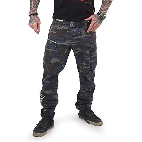 Yakuza Men Cargo Pants El Bastardo, Talla:W30, Color:Camouflage ...