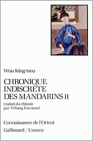 Téléchargement Chronique indiscrète des mandarins, tome II pdf