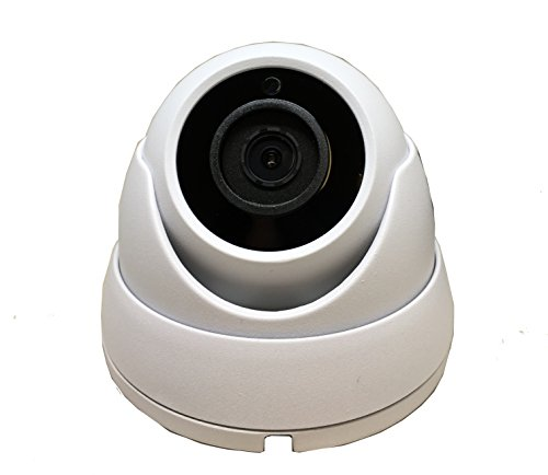 101AV STARVIS Image Sensor 1080P 4in1 (TVI, AHD, CVI, CVBS) 3.6mm Fixed Lens Indoor Outdoor Dome Camera DWDR OSD menu for CCTV DVR Home Office Surveillance Security (White)