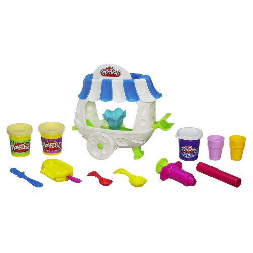 Play-Doh Sweet Shoppe Ice Cream Sundae Cart Playset (Play Doh Ice Cream Set compare prices)