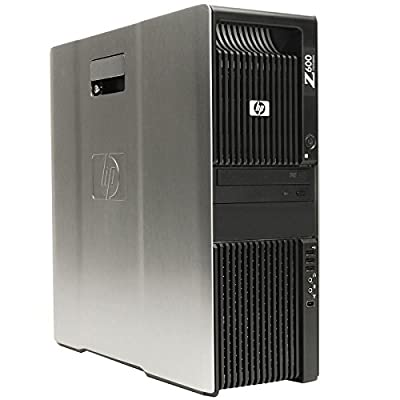 HP Z600 Workstation 2x X5650 Hex Core 2.66GHz 48GB RAM Dual DVI NO Hard Drive NO OS