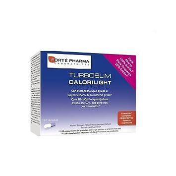 TURBOSLIM CALORILIGHT 120 Comprimidos de Forté Pharma: Amazon.es: Salud y cuidado personal
