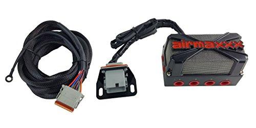 airmaxxx X4 Air Ride Suspension Solenoid Valve Manifold & Wiring Harness