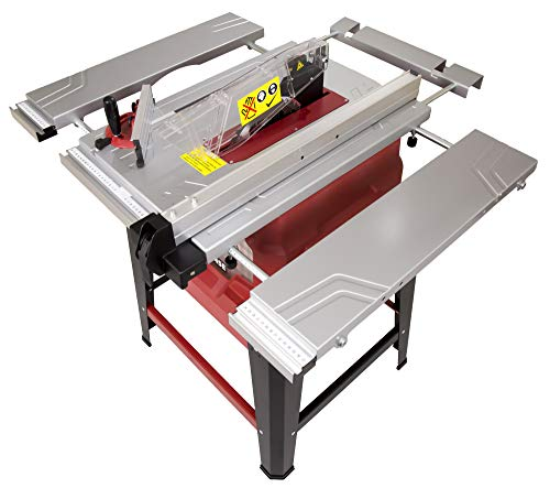 Lumberjack TS254SE 254mm 10' 1500W Table Saw with Extending Table and Legstand 230V