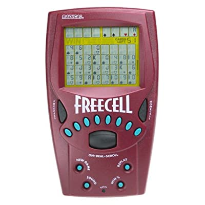 Handheld FreeCell Solitaire Game - 8019: Toys & Games