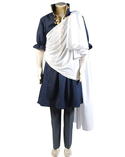 [Ya-cos Halloween Fairy Tail The Black Wizard Zeref Cosplay Costume] (Zeref Cosplay Costume)