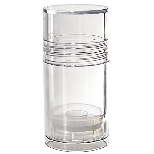 - Clear Acrylic (BPA Free) Push Up Tube Bottles - 1 oz (10 pack)