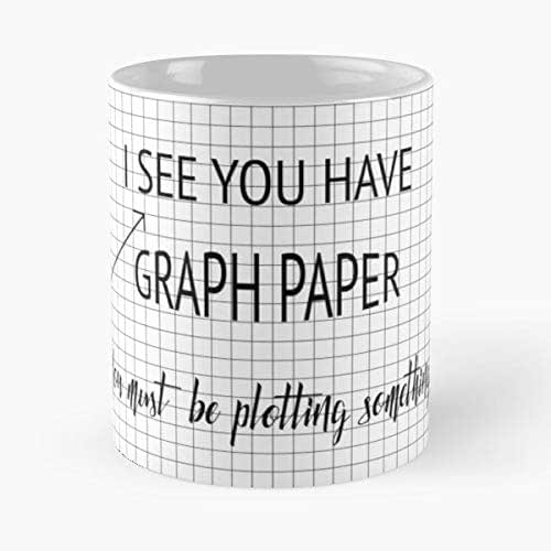 Math Teacher Graph Paper Graphs Pun Bad Puns Best 11 oz Taza De ...