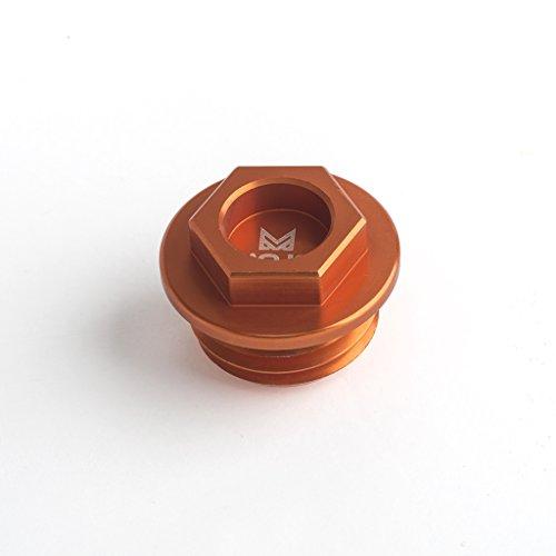 Mojo MOJO-KTM-OP Anodized Orange CNC Billet Oil Fill Plug
