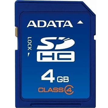 Amazon.com: A-Data SDHC Class 4 Tarjeta de memoria flash ...
