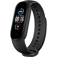 Pulseira de relógio inteligente Xiaomi Mi Band 5 Fitness Tracker para homens e mulheres, monitor de frequência cardíaca…