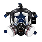 Holulo Organic Vapor Full Face Respirator Respiratory Protection Gas Masks Paint Pesticide Chemical