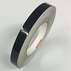 Oracal 651 Vinyl Pinstriping Tape - Pinstripes, Decals, Stickers, Striping - 1inch X 150ft. Roll - Matte Black