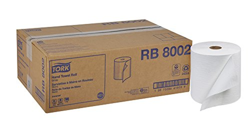 (Tork Universal RB8002 Hardwound Paper Roll Towel, 1-Ply, 7.87