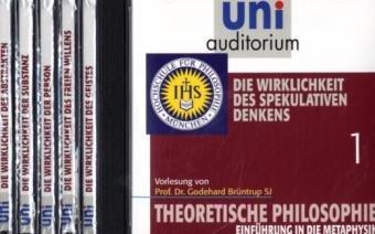 Paket: Theoretische Philosophie, Teile 1 - 6 (Reihe: uni auditorium) 6 CDs zum Vorzugspreis im Geschenkschuber (Länge: ca. 384 Min.) (uni auditorium - Audio)