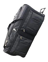 """Archibolt Canada 36-inch Wheeled Rolling Duffle Bag Cargo Outdoor Hockey Bag 36"""", XL"""